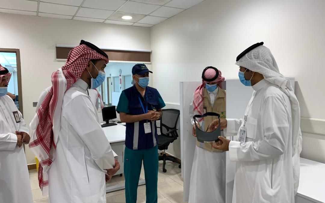 مدير الشؤون بصحة الطائف يتفقد المشاريع التطويرية بمجمع الملك فيصل الطبي