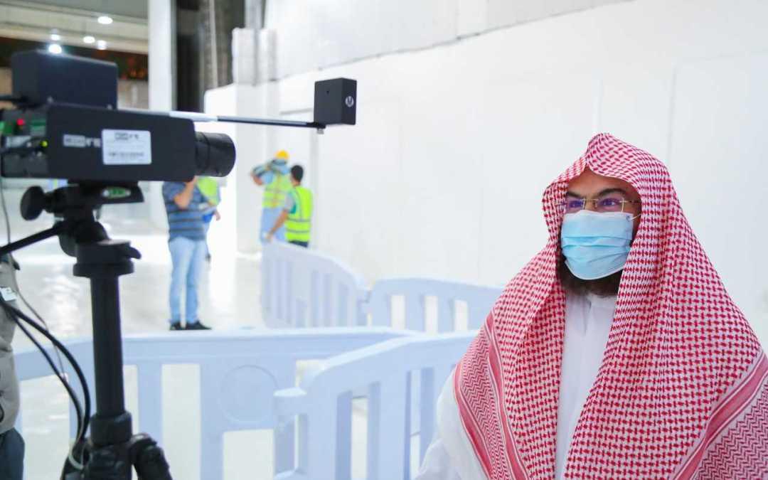 تدشين كاميرات حرارية متطورة في المسجد الحرام ، ضمن حزمة من الإجراءات الاحترازية.