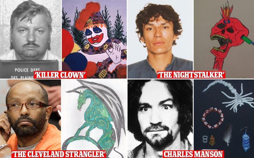 جرائم المرضى النفسيين والرسم