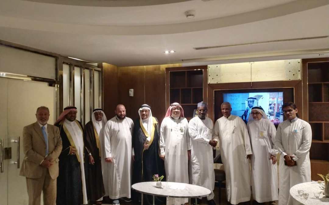 د. طلال مختار يحتفي بدبلوماسي الجاليات الأفريقية الغير ناطقة بالعربية وعدداً من الإعلاميين