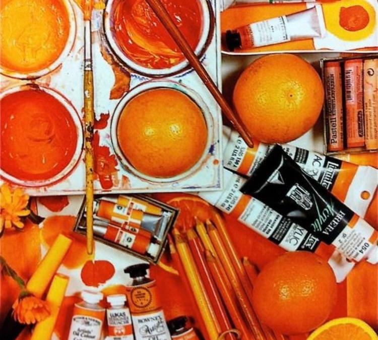 اللون البرتقالي في العالم القديم