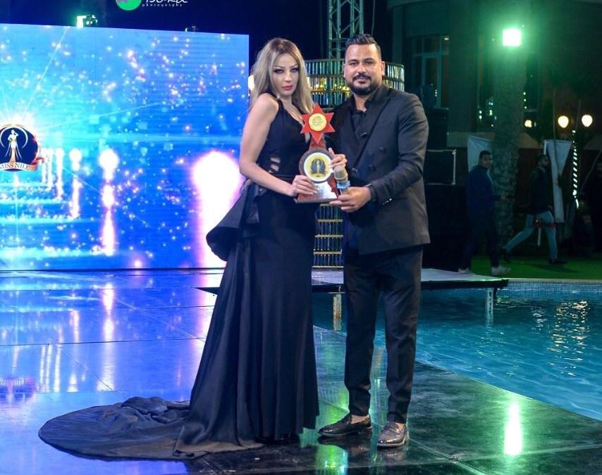 مهرجان ملكة جمال بنت النيل (miss Nile ) يكرم الممثلة المتألقة سمر همادى