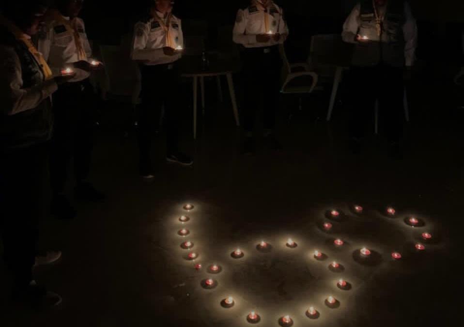 """جمعية الكشافة تشارك في الاحتفاء بـ """"ساعة الأرض"""""""