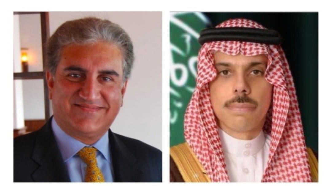 وزير الخارجية الباكستاني قريشي: يجري اتصالًا هاتفيًا مع وزير الخارجية السعودي