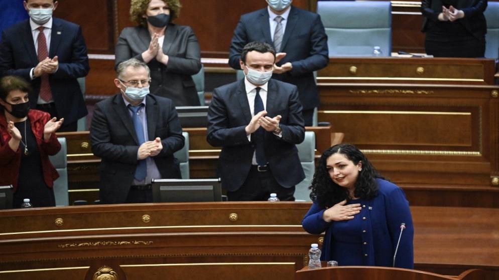 """""""فيوسا عثماني"""" : رئيسةً لكوسوفو"""