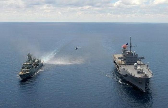 قلق روسي : سفينتان أميركيتان في طريقهما لدخول البحر الأسود