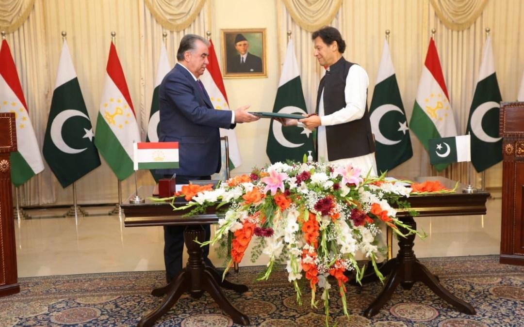 تعاون ثنائي بين باكستان وطاجيكستان