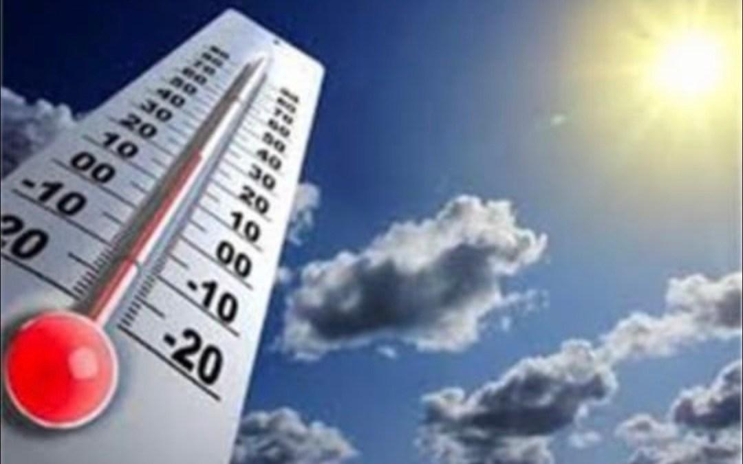القيصومة .. تسجل معدل أعلى درجة حرارة اليوم