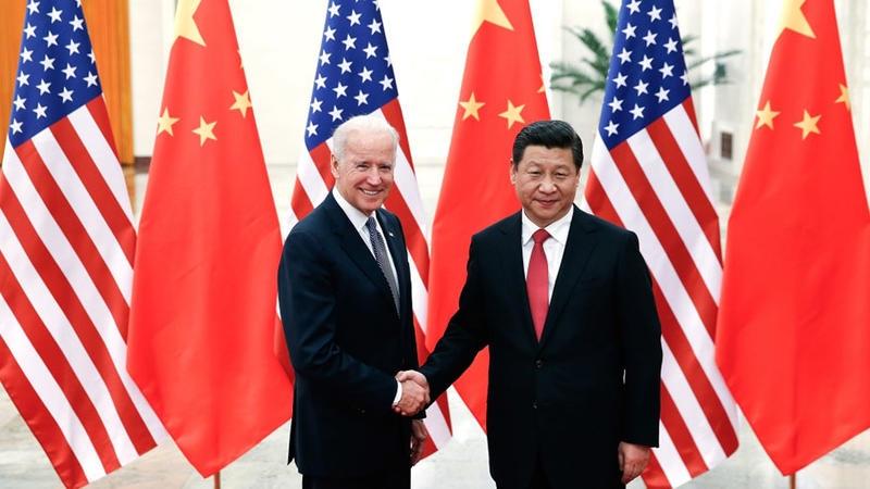 أول مكالمة هاتفية بين بايدن ونظيره الصيني منذ سبعة أشهر