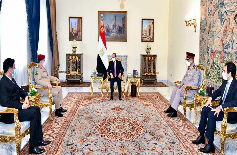 السيسي يؤكد موقف مصر الثابت في دعم جهود التوصل إلى حل سياسي للأزمة اليمنية
