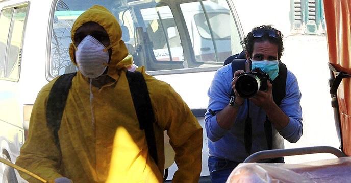 منظمة دولية: 1754 صحفيًا راحوا ضحية #كورونا حتى الآن
