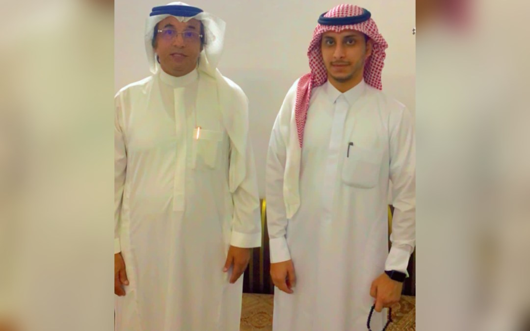 """الزميل الإعلامي محمد العمري يحتفل بعقد قران نجله """"طلال """""""
