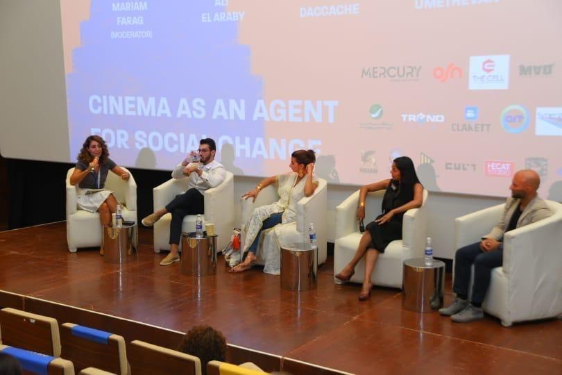 «مهرجان الجونة السينمائي» يناقش دور السينما كأداة للتغيير المجتمعي