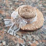 Video tutorial per realizzare dei graziosi cappellini Shabby