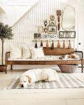 Panche e divani, insieme creano atmosfere Shabby