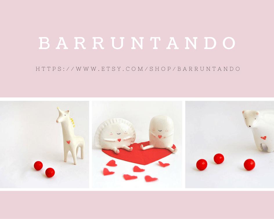 S{etsy}day shop find: BARRUNTANDO