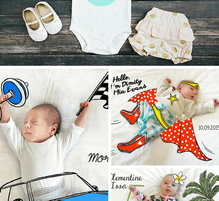S(etsy)day: Todd Borka + Free Baby Milestone Sticker Printable