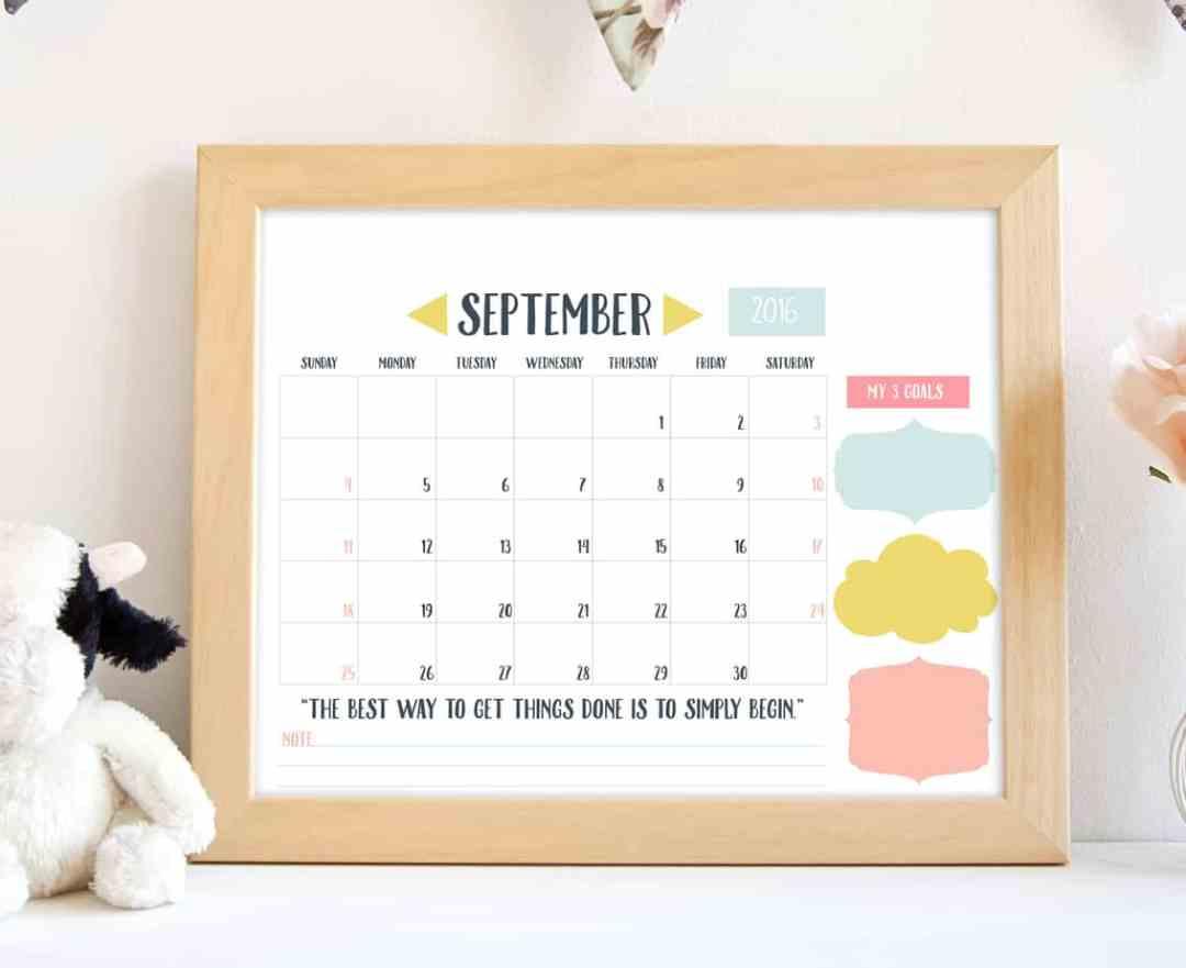 september frame