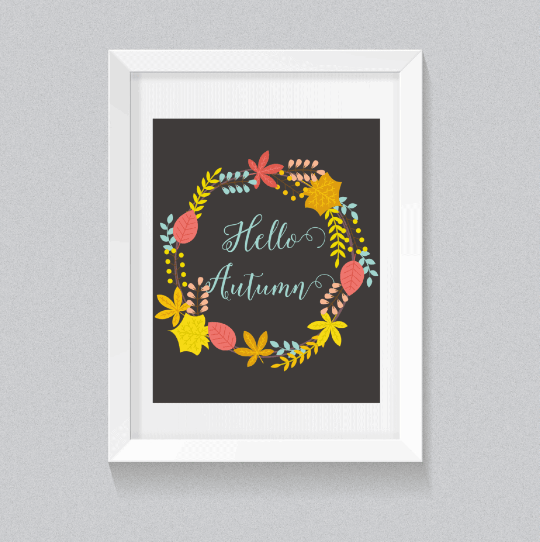 hello-fall-black-frame