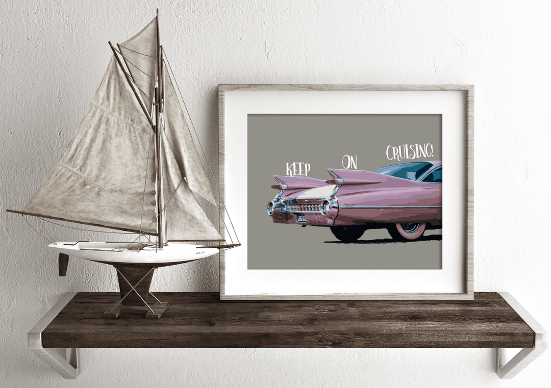 Keep On Cruising. Car printable.shabbymintchicparty.etsy.com