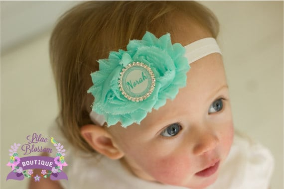 personalized gifts, baby headband