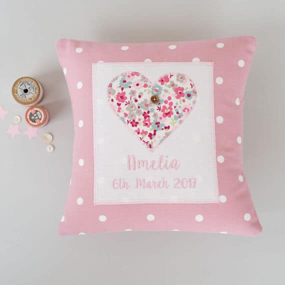 personalized gifts, baby pillow