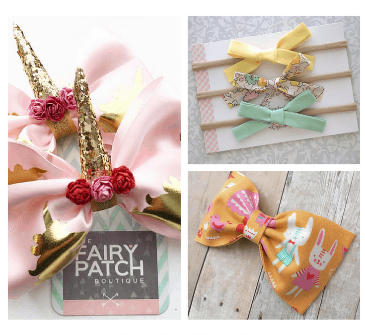 Beautiful Hair Bows  and Headbands for Girls