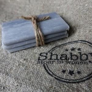 Shabbys-Stoer in wonen-Stoer, grijs zeepplakje, hammam sinaasappelbloesem, klein