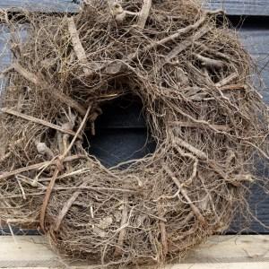 Shabbys-Stoer in wonen-Krans Root Wreath Naturel 39 cm