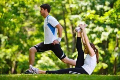 Morning exercises for fitness
