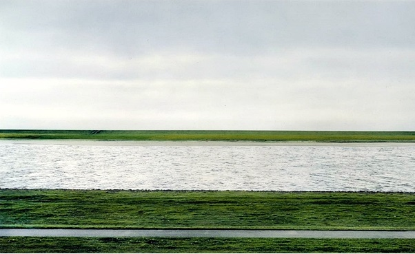 The Rhine II 1999 by Andreas Gursky