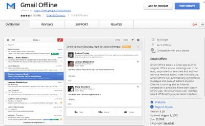 gmail offline 21 Best Google Chrome Extension 2017