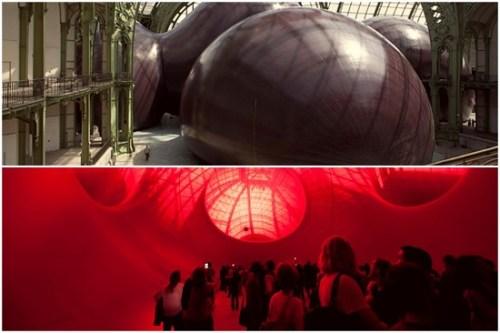 Leviathan Anish Kapoor grand Palais France