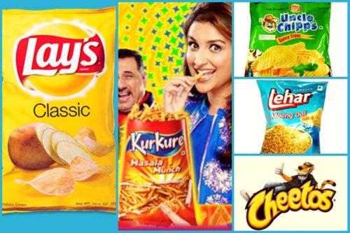 Pepsico India snacks स्नैक्स नमकीन