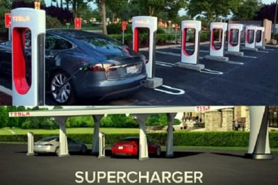टेस्ला कार चार्जिंग स्टेशन