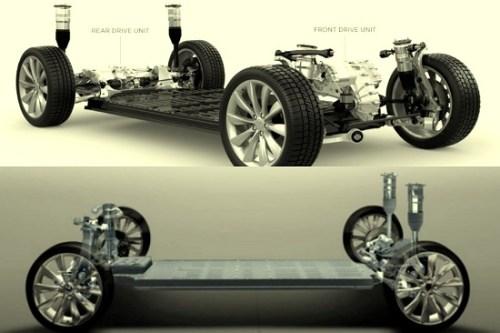 टेस्ला कार मोटर