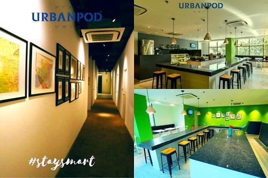 Urbanpod Mumbai hotel lounge