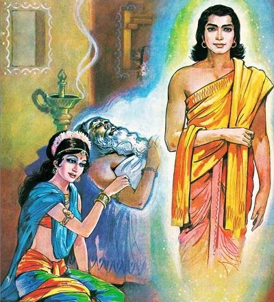 devyani and Kach story