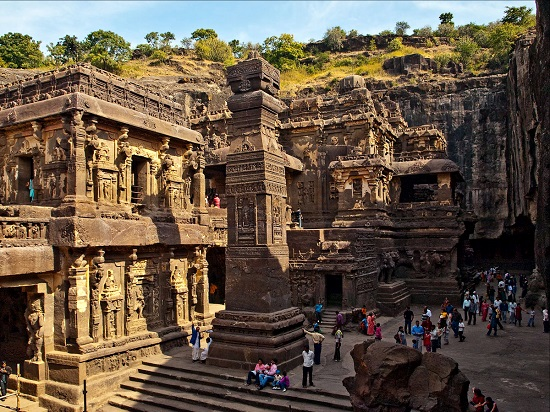 Kailash temple facts
