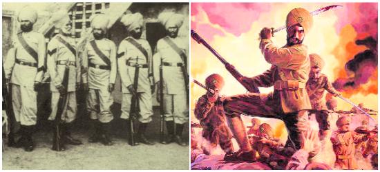 1897 Saragarhi battle in hindi