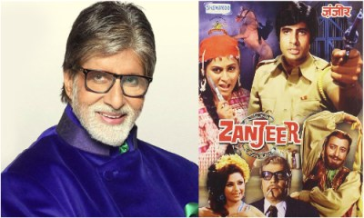 Amitabh Bachchan Zanzeer hindi movie