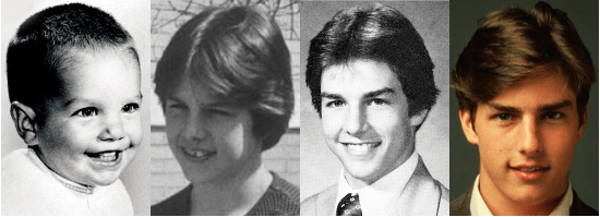 tom cruise childhood photos