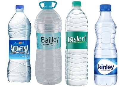 Packaged drinking water brands india