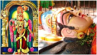 Draupadi amman statue south India