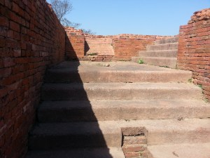 Steps in the Monastery