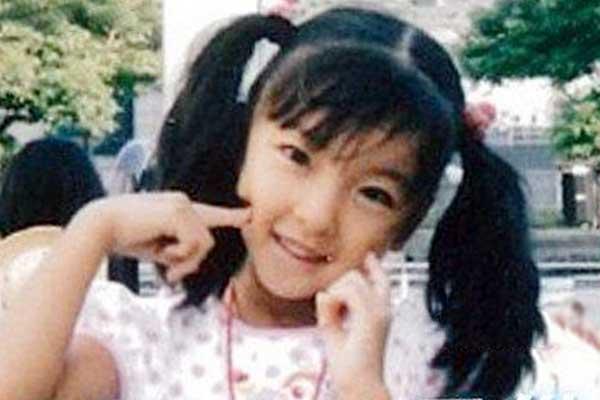 板野友美 小学生時代