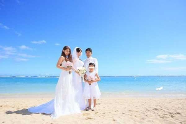 薬丸裕英 石川秀美 結婚式 ハワイ