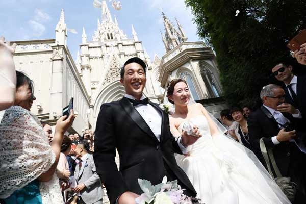 瀬戸大也 馬淵優佳 結婚