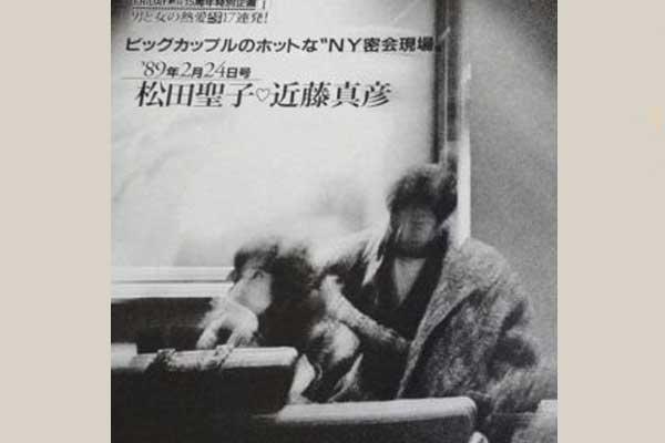 近藤真彦 松田聖子 フライデー