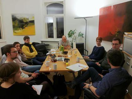 Shabka Salon am 16.03.2018 in Graz. Bild: Nikolaus Tischlinger, Shabka.